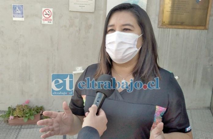 Mariela Maldonado, Directora del Cesfam Segismundo Iturra Taito.