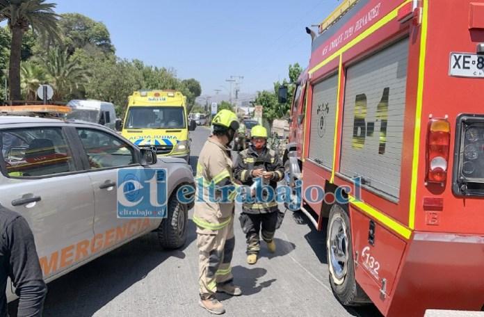 Cada salida en falso de una unidad de rescate de Bomberos puede generar problemas si ocurren en ese momento emergencias reales. (Archivo)