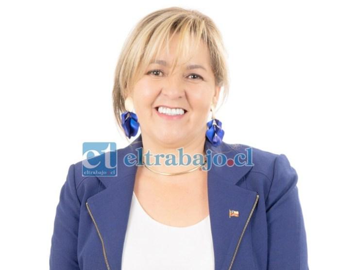 Patricia Boffa Casas, concejal de San Felipe.
