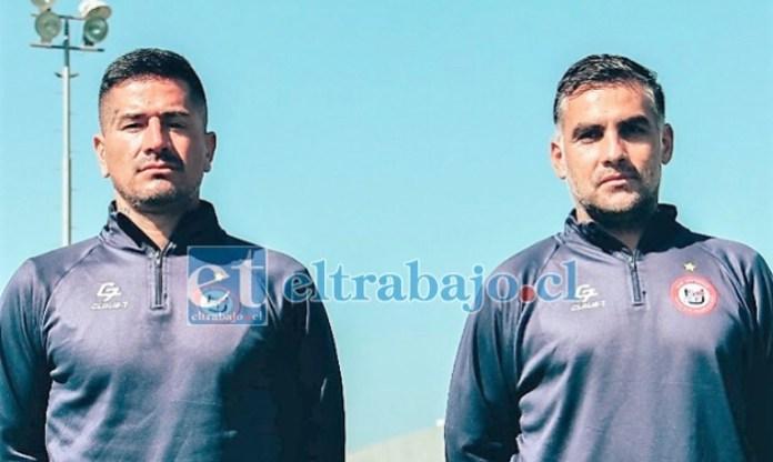 Esta tarde en Quillota se producirá el estreno de la dupla técnica compuesta por Jorge Acuña y Nicolás Suarez.