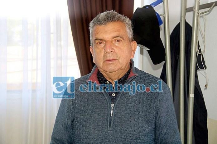 Alcalde de Putaendo, Sergio Zamora.