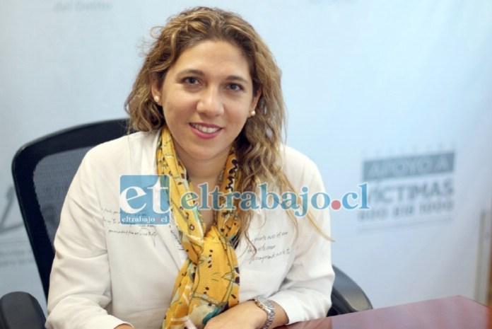 La jefa nacional del Programa de Apoyo a Víctimas, Paulina Rodríguez, dispuso de inmediato que profesionales del Centro de Apoyo a Víctimas de San Felipe se encargaran del caso.
