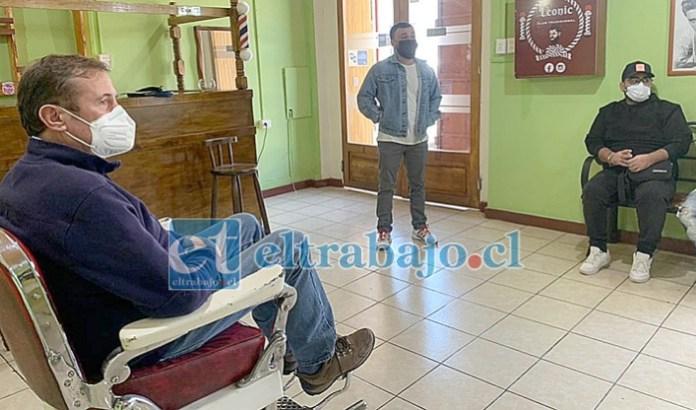 Tras reunirse con los barberos y estilistas del valle, el diputado Luis Pardo envió un oficio al Ministerio de Salud para solicitar, en la medida de lo posible, que puedan ser declarados como esenciales.