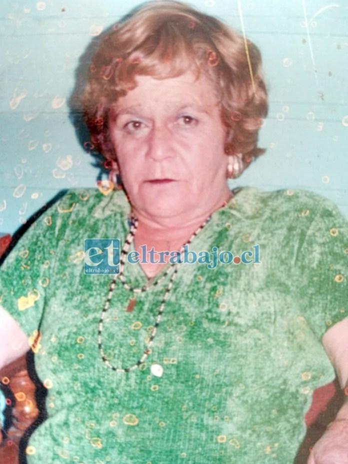 Rosita Gallardo Delgado, murió a sus 82 años de edad.