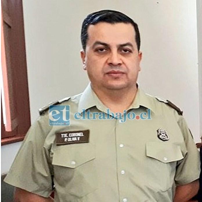 Exprefecto de Carabineros Aconcagua, Paul Oliva Yáñez, formalizado por el delito Apremio Ilegítimo.