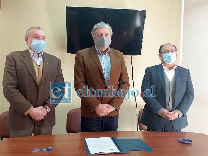 Acompañado por el exgobernador Claudio Rodríguez y el asesor jurídico; Boris Luksic asumió como primer delegado presidencial provincial de San Felipe de Aconcagua.