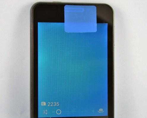 Smartphone camera security label Smartphone Sicherheitssiegel okostelefon biztonsági címke sigiliu smartphone
