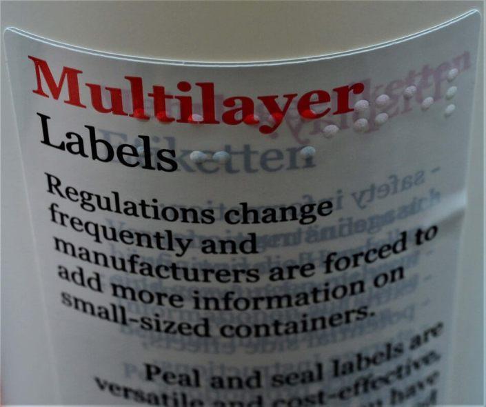 tactile labels Taktile Etiketten Dombornyomott címkék Etichete tactile specialty printing Spezialdruck speciális nyomdatermékek Tipar special