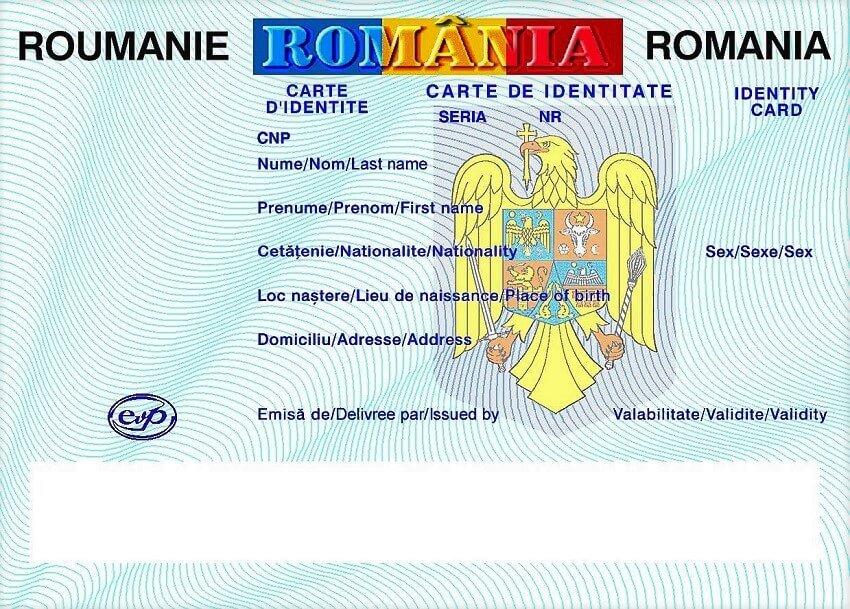 Identity Cards Personalausweise Biztonsági okmányok Cărți de identitate