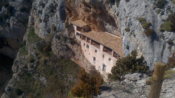 Excursión a la Ermita de la Virgen de la Peña, en Aniés (Huesca)
