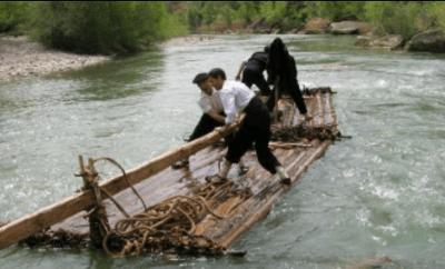 Descenso de Nabatas por el río Gállego