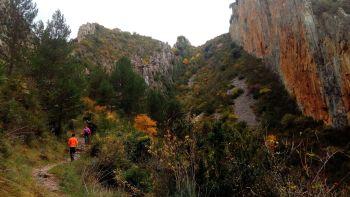 Foz de Salinas excursión en Huesca