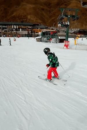 Inaugurando la temporada de esquí Huesca