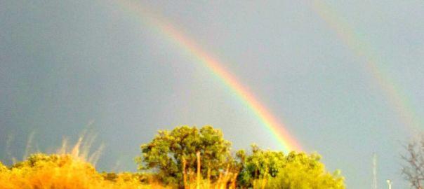 Un arcoiris y mil significados foto paz