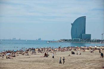 Barcelona con niños playas