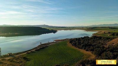 El embalse de Valdabra en Huesca
