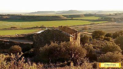 Construcción antigua Huesca