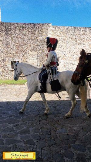 Desfile en Ciudadela de Jaca