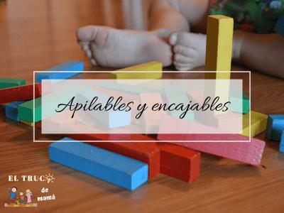 Apilables y encajables juegos