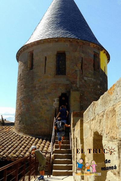 Carcassonne en familia castillo