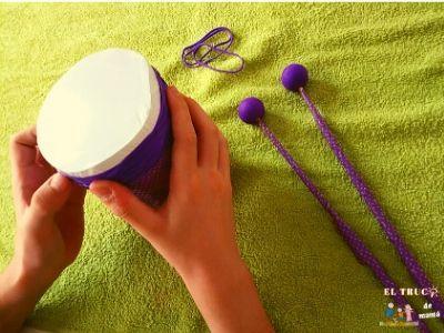 Cómo hacer un tambor DIY