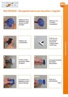Primo Multidoboz elhelyezése - használati útmutató (EPS falak)