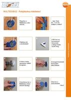 Primo Multidoboz szerelési útmutatója (szárazvakolat)