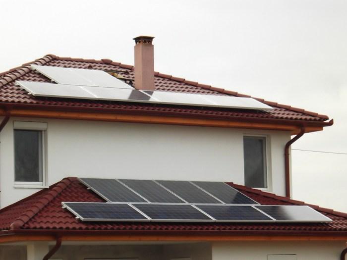 Budapest, Karmazsin u. 3,5 kW-os napelem rendszer