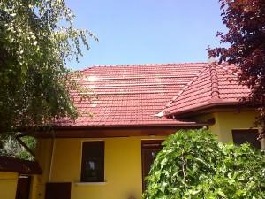Kiskunfélegyháza, 4 kW SolarEdge napelemes rendszer, sínek