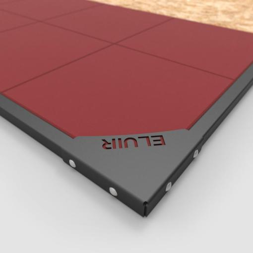 ELUIR Weightlifting Platform Pro 2.5 - Corner Detail
