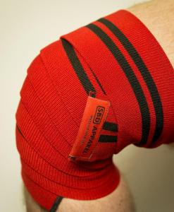 SBD Training Knee Wraps - Detail 1