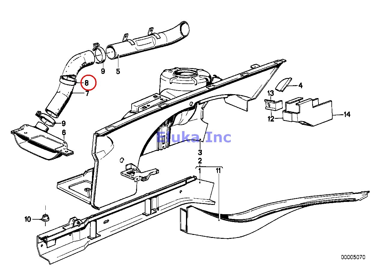 Bmw Genuine Exhaust Manifold Fuel Injection System Supply