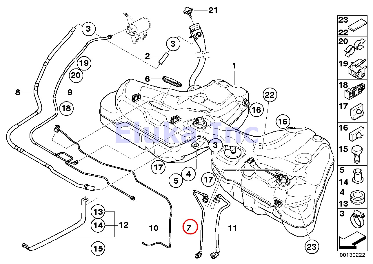 Bmw Genuine Fuel Line
