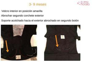 instrucciones mochila portabebés ergobaby adapt