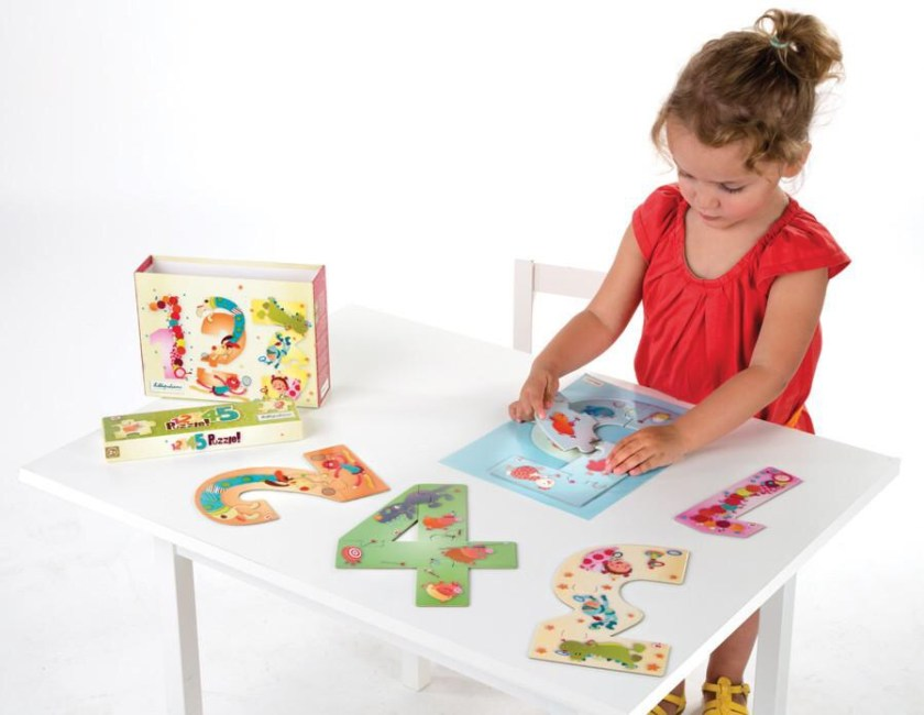 Puzzles educativos Lilliputiens