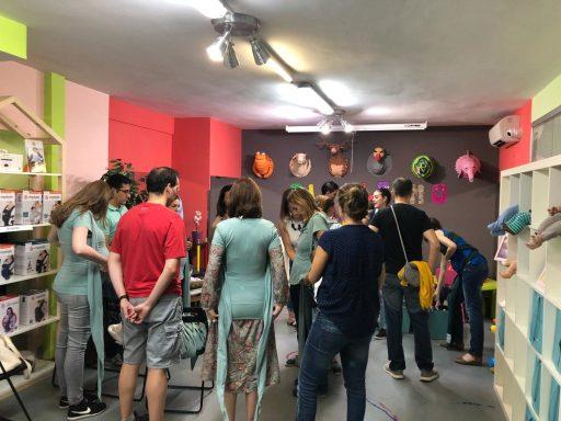talleres de portabebes ergonomicos en Madrid
