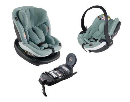 mejor silla portabebés recioen nacido : besafe izi modular