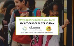 eLuma back-to-school pilot program