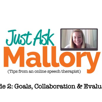 Ask a teletherapist. Just ask Mallory.