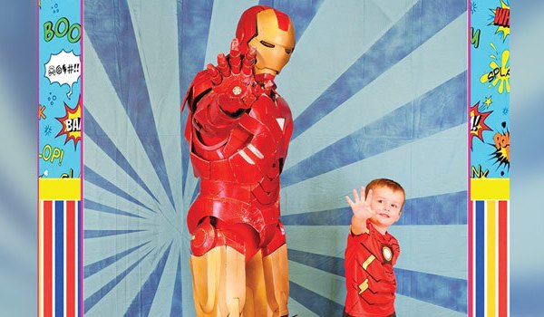 Autism Community Event - Boy with Ironman