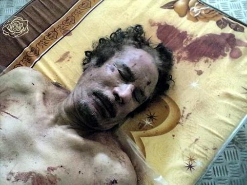 Muamar al Gadafi, ex líder libio, murió este jueves en Sirte.