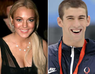 Lindsay Lohan quiere conocer a Michael Phelps