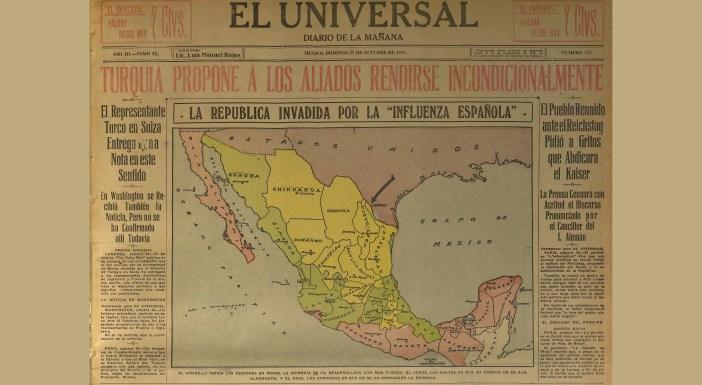 Medidas que México aplicó ante la influenza hace un siglo