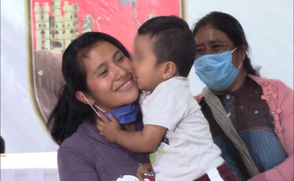 Dylan Esaú. Detienen a mujer que sustrajo a menor en Chiapas