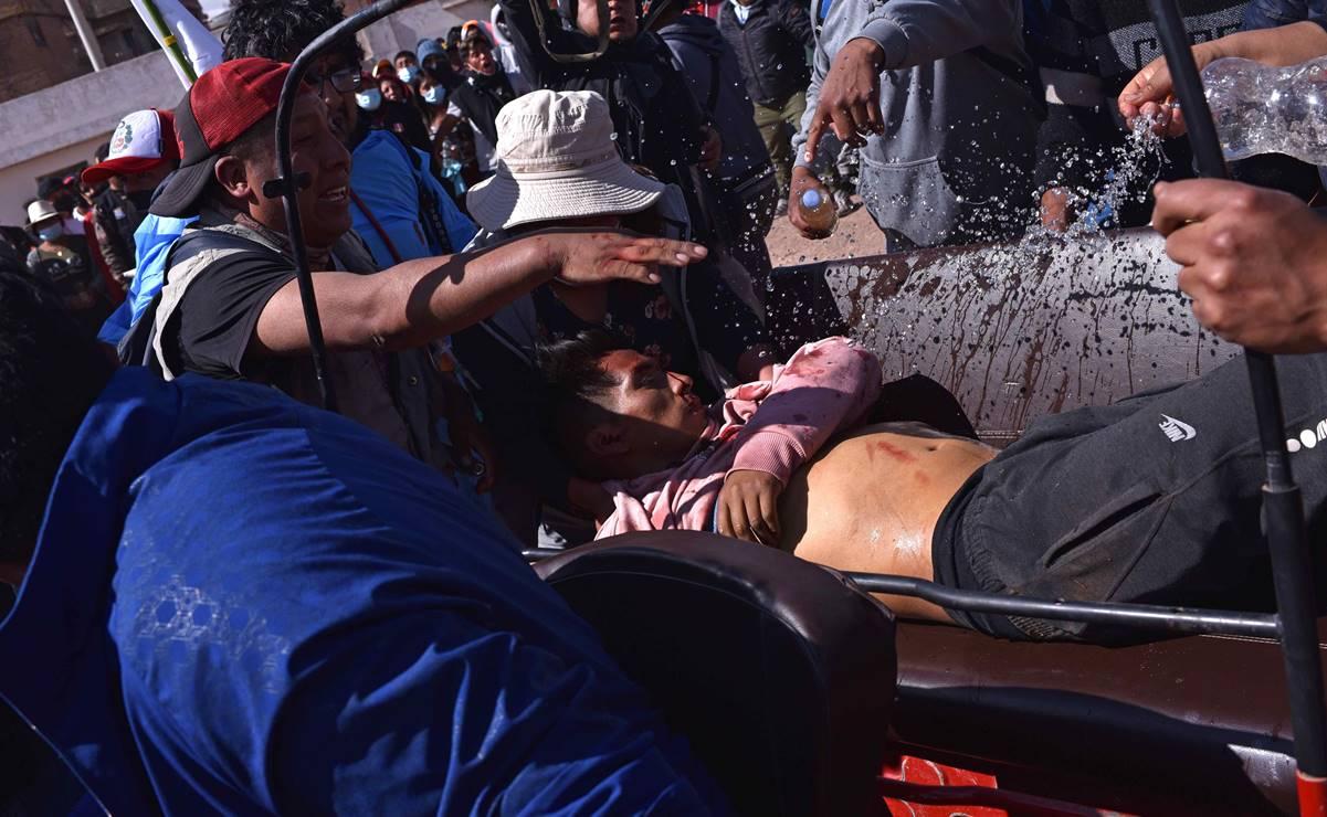 Miles marchan contra el nuevo gobierno en Perú