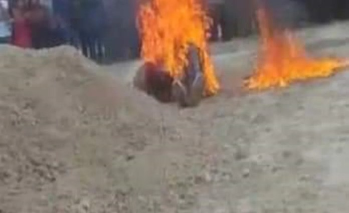 Alleged murderers burned alive in Chiapas