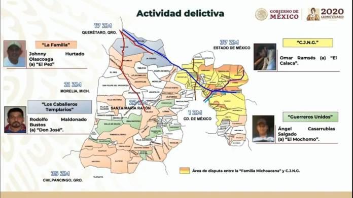 Operan seis grupos de la delincuencia organizada en el Valle de ...