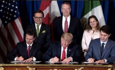Resultado de imagen para Firman T-MEC,en el marco del G-20