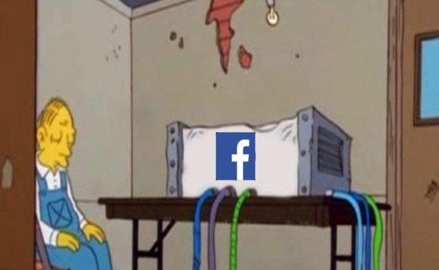Resultado de imagen para facebook caida