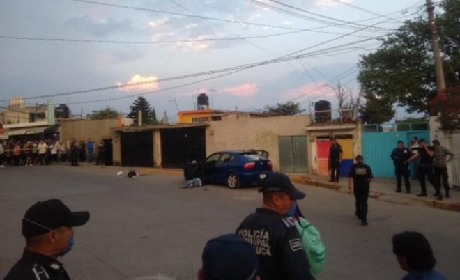 Mueren cuatro hombres tras balacera en Ixtapaluca